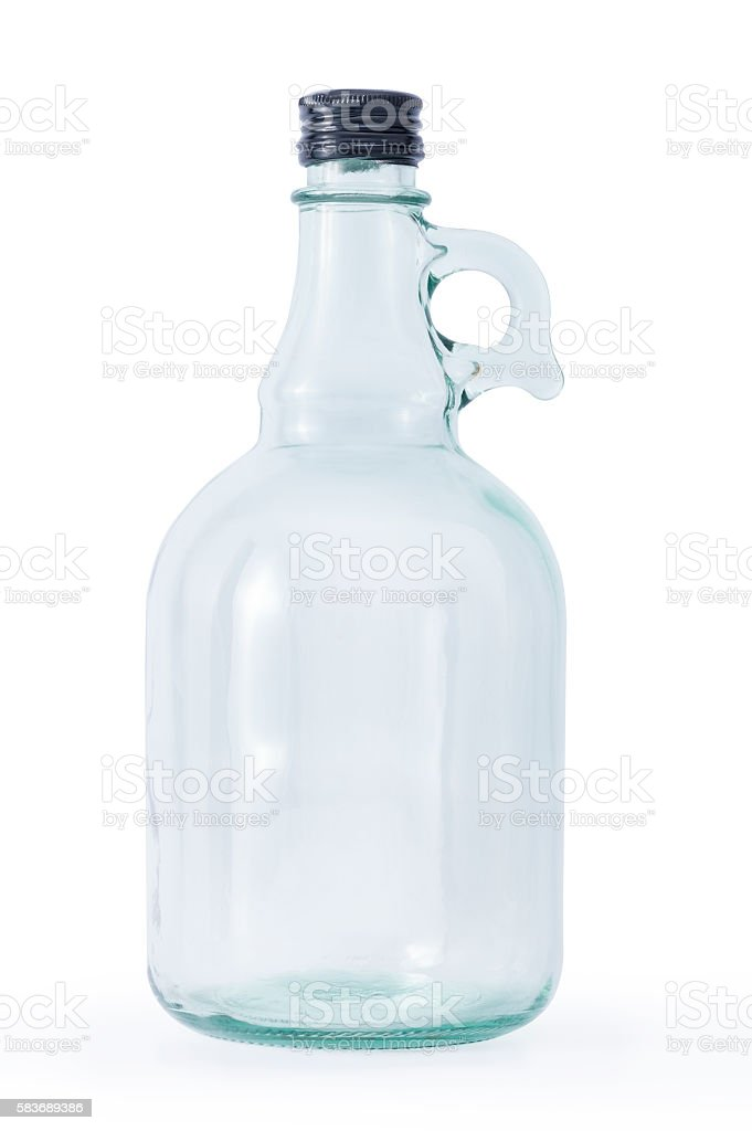 Cider Bottle stock photo
