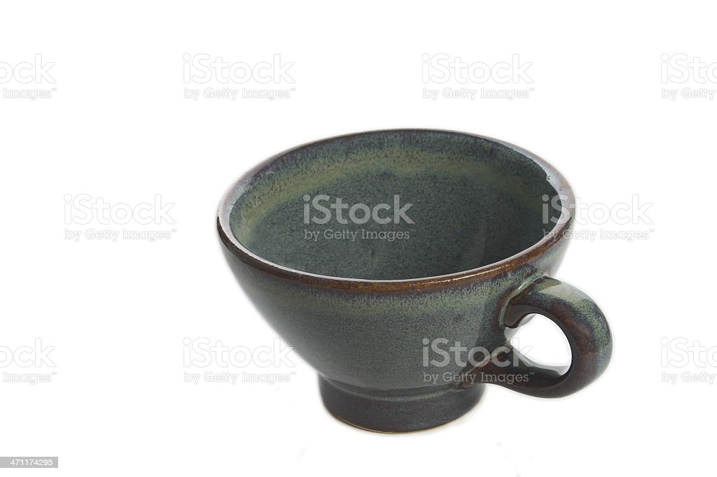 Cider Cup from Brittany royalty-free stock photo