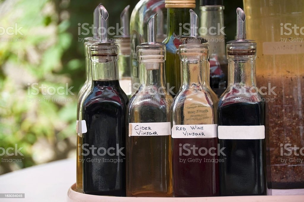 Cider Vinegar stock photo