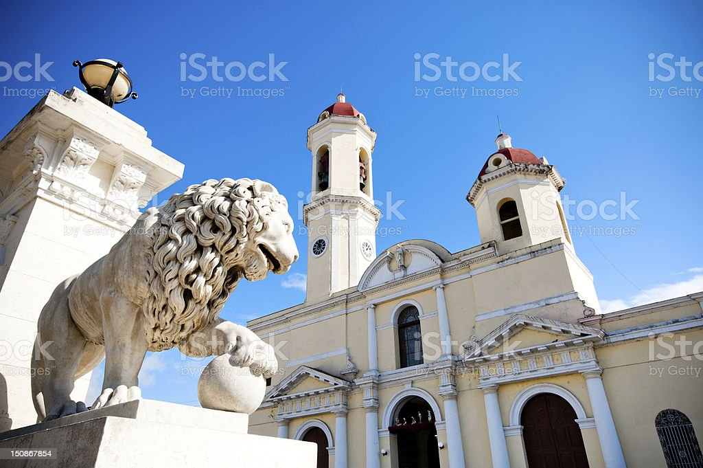 Cienfuegos, Cuba stock photo