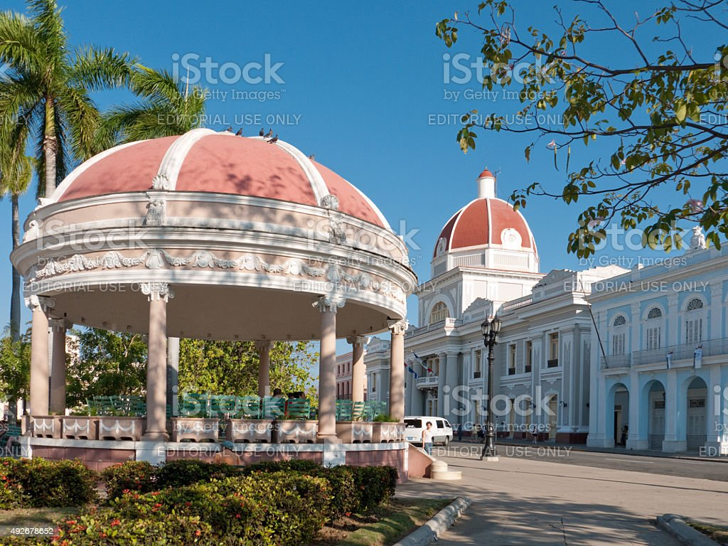 Cienfuegos, Cuba, Trinidad stock photo