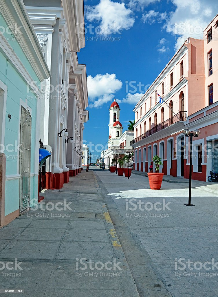 Cienfuegos stock photo