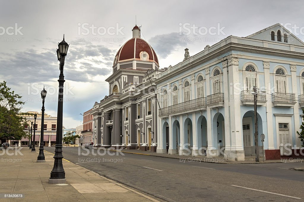 Cienfuegos town hall stock photo