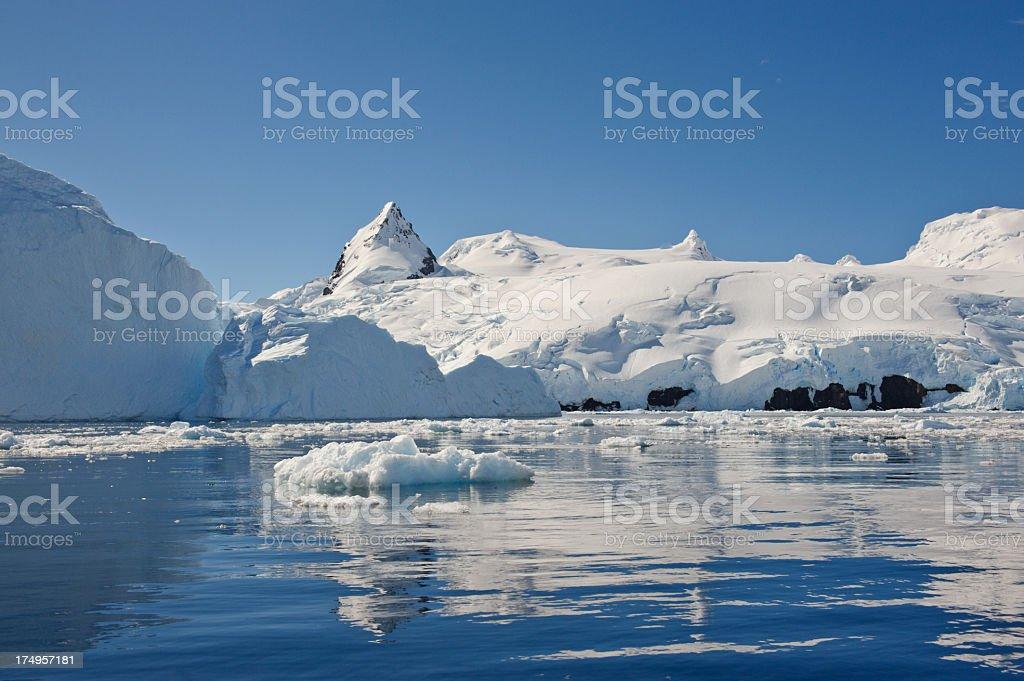 Cierva Cove, Antarctica royalty-free stock photo
