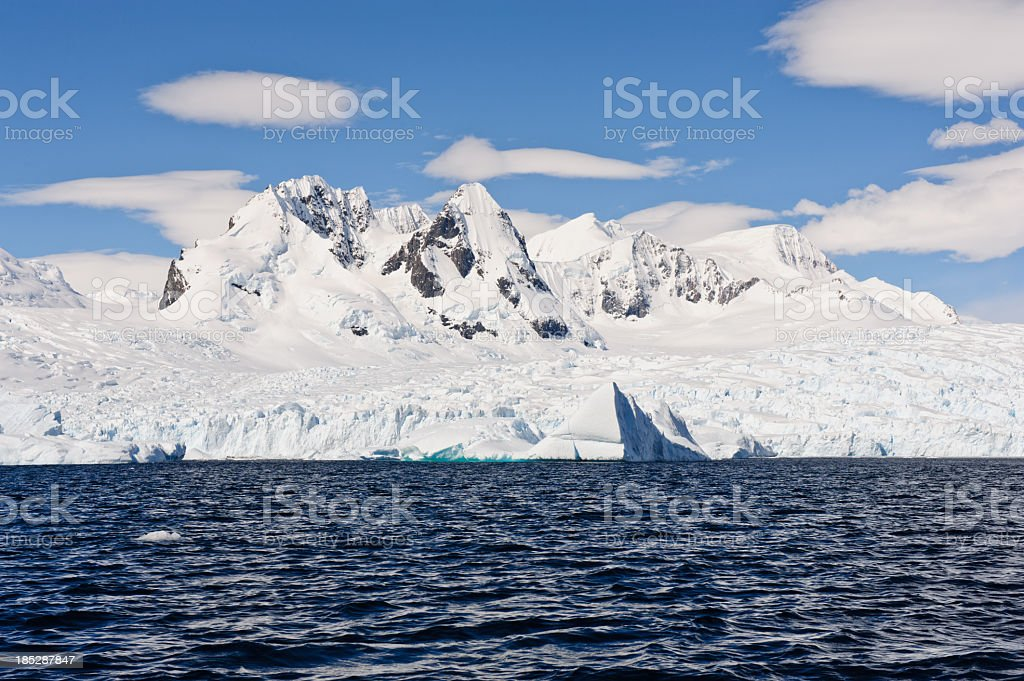 Cierva Cove, Antarctica stock photo