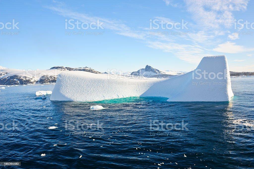 Cierva Cove Iceberg stock photo