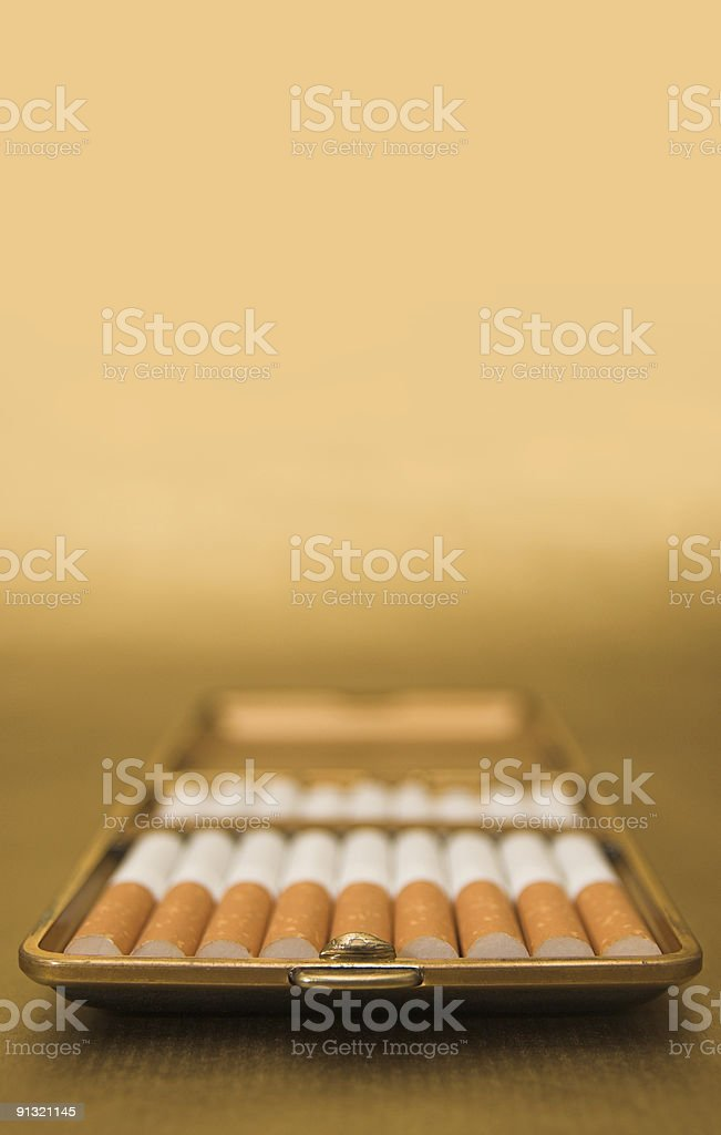 Cigar-Case stock photo