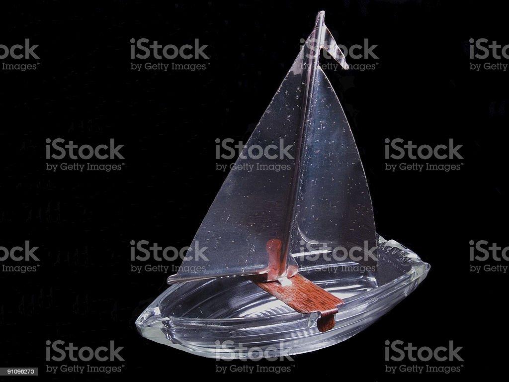 Barco de corrida foto royalty-free