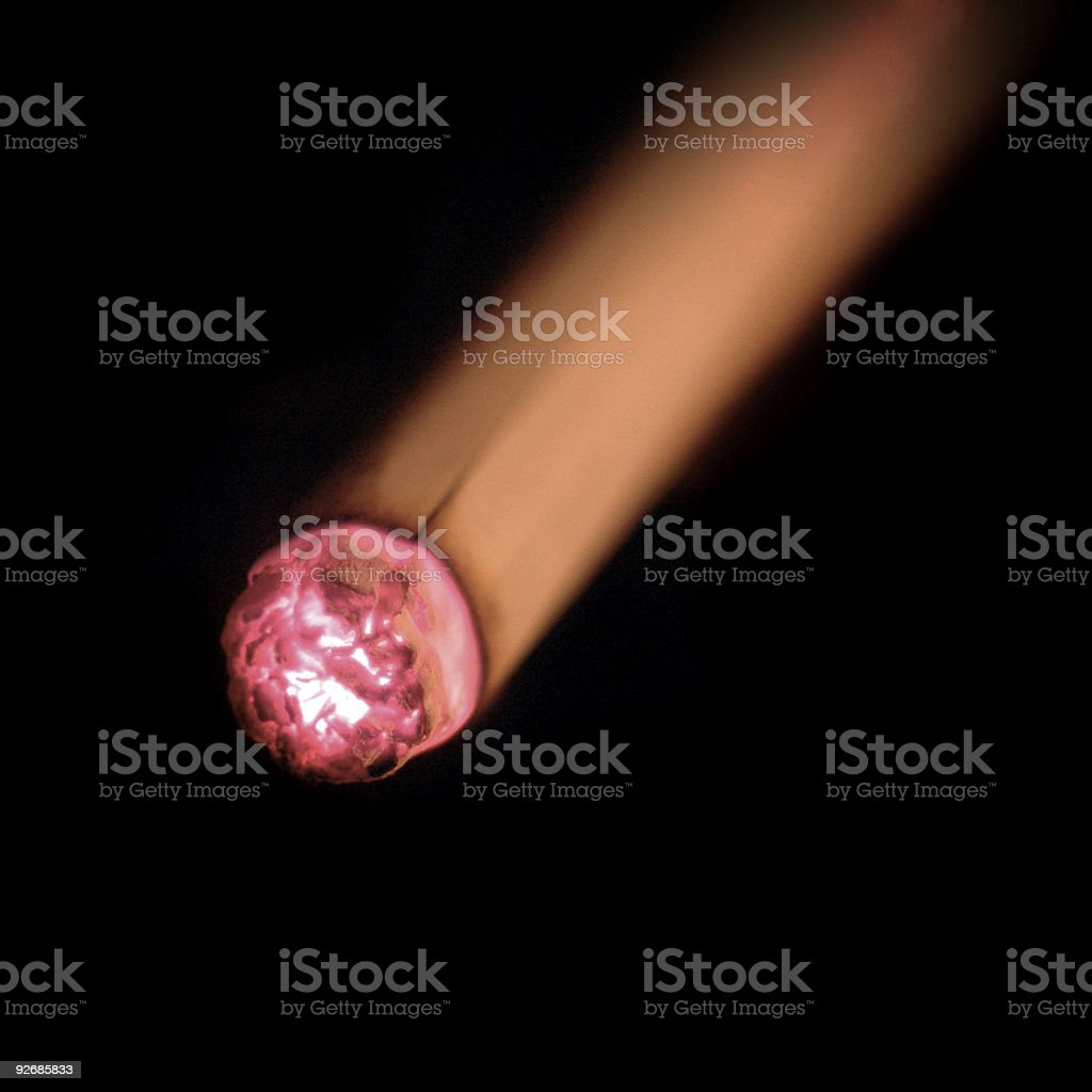 Cigarette Macro royalty-free stock photo