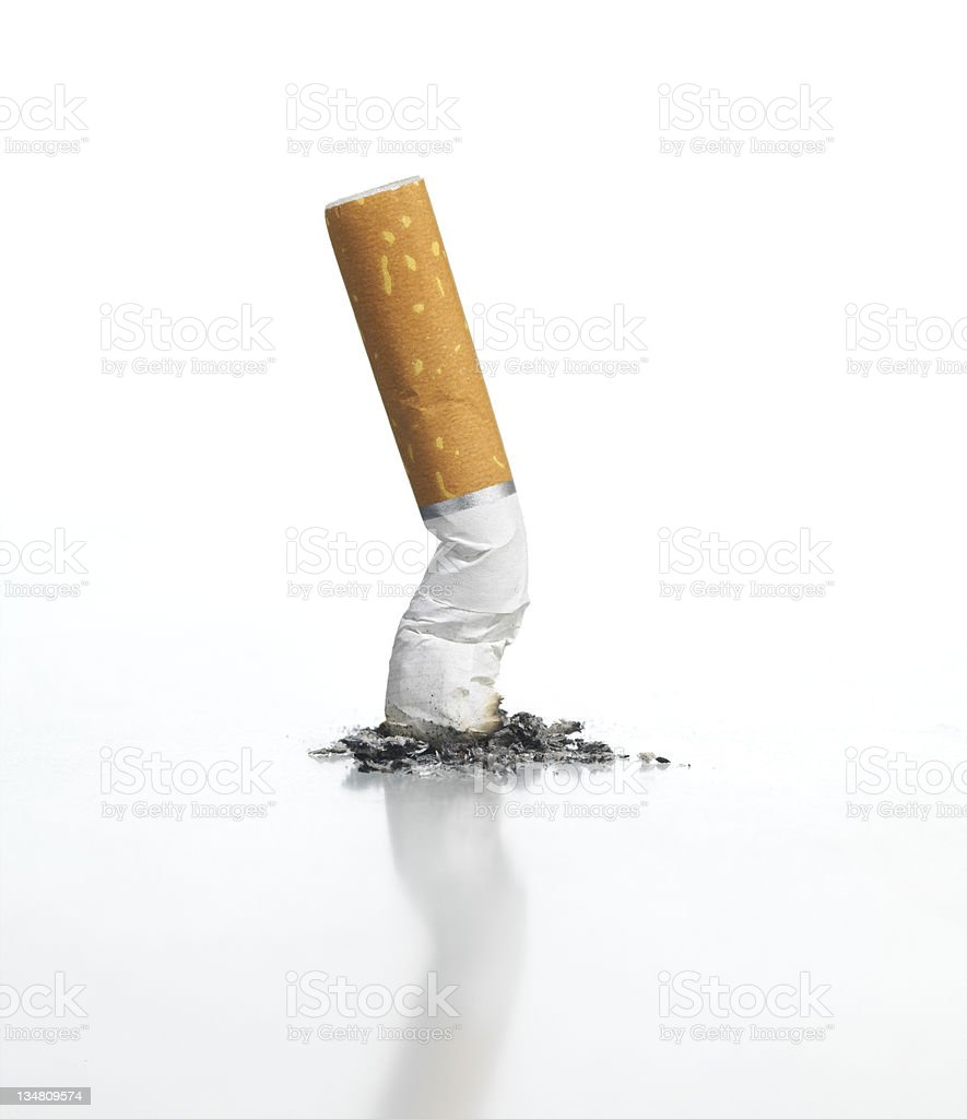 Cigarette royalty-free stock photo