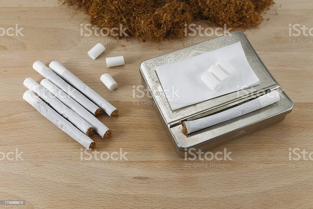 Cigarette Wrapper royalty-free stock photo
