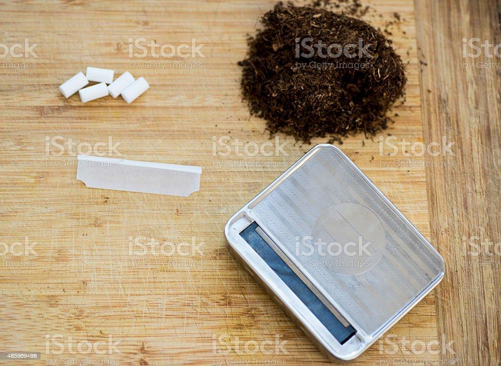 Cigarette Wrapper stock photo