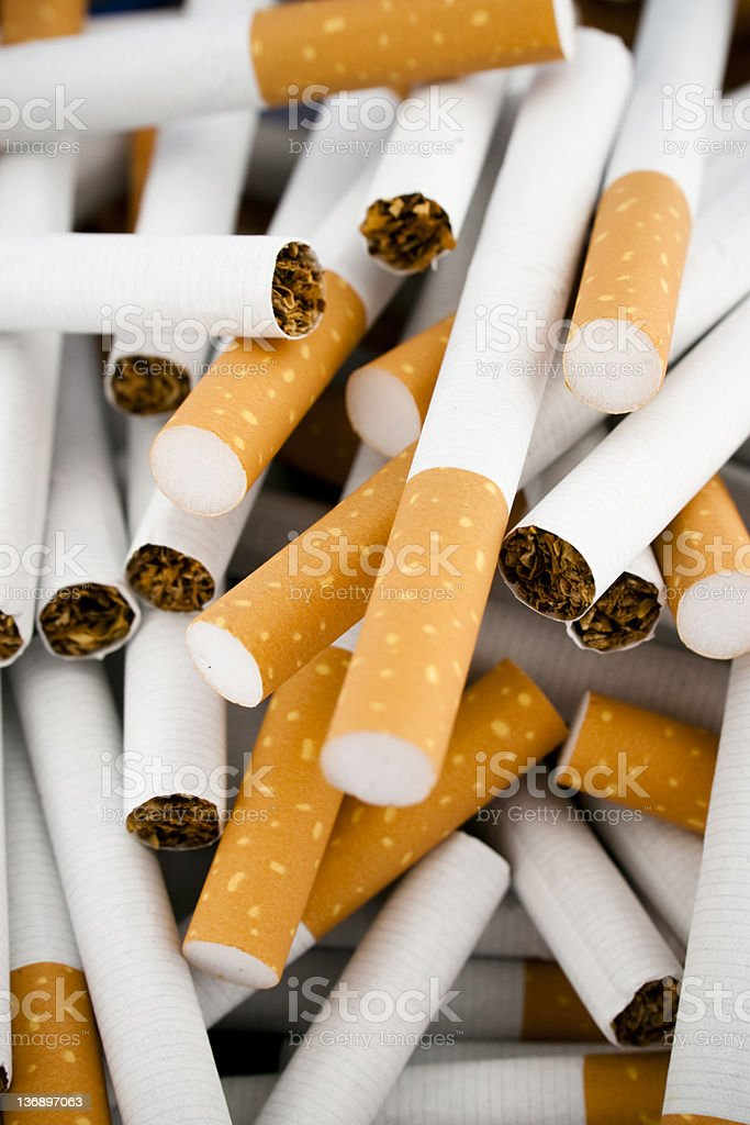 Cigarettes royalty-free stock photo