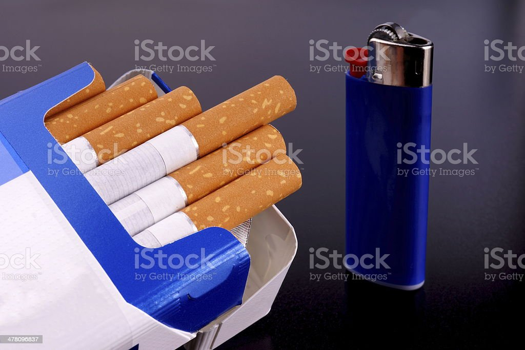 Cigarettes royalty-free stock photo