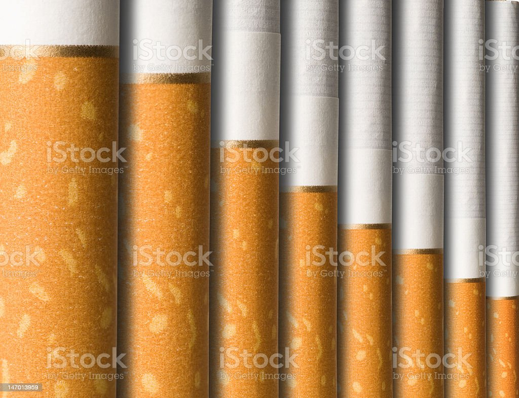Cigarettes Wall stock photo