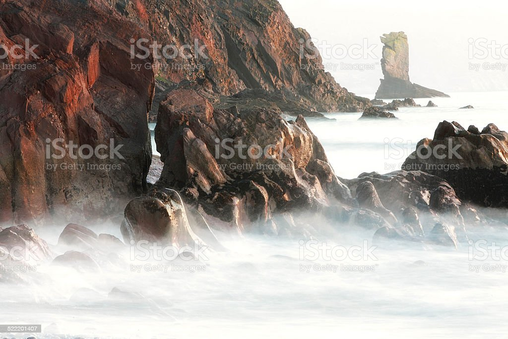 Cinade in a Sea of Mist stock photo