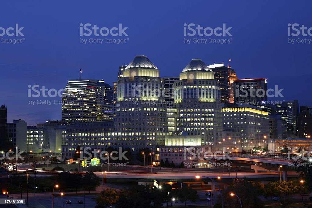 Cincinnati, Ohio royalty-free stock photo