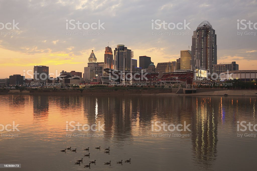 Cincinnati, Ohio stock photo
