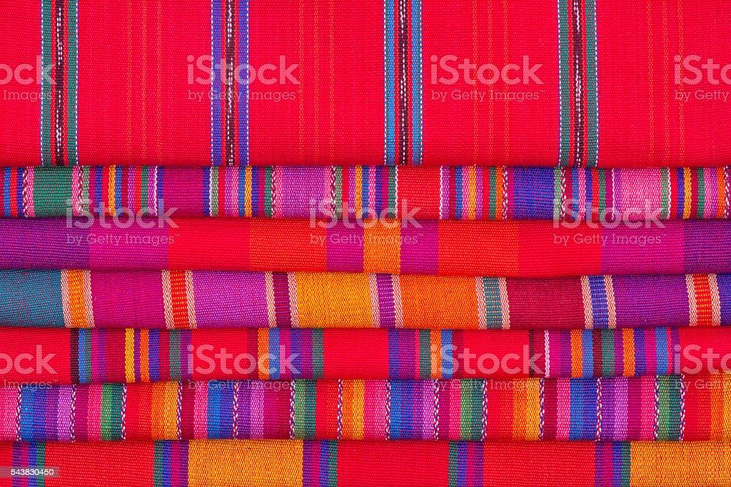 Cinco de Mayo Mexico Fiesta Textile Background stock photo