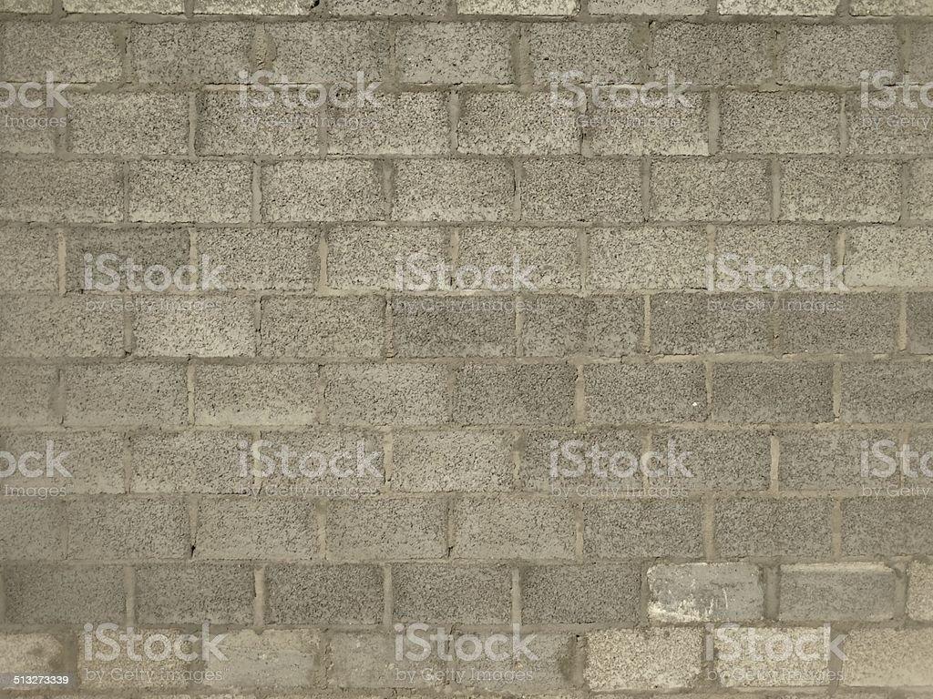 Cinder Block Background stock photo