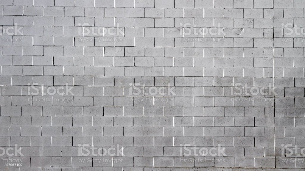 Cinder Blocks stock photo