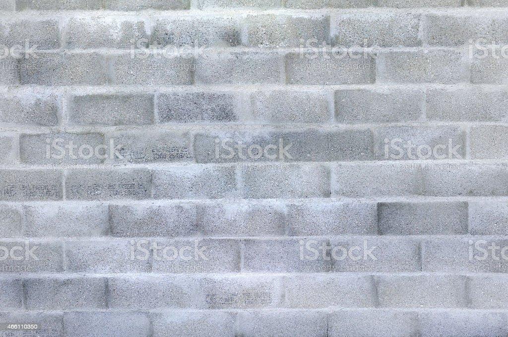cinderblock wall stock photo