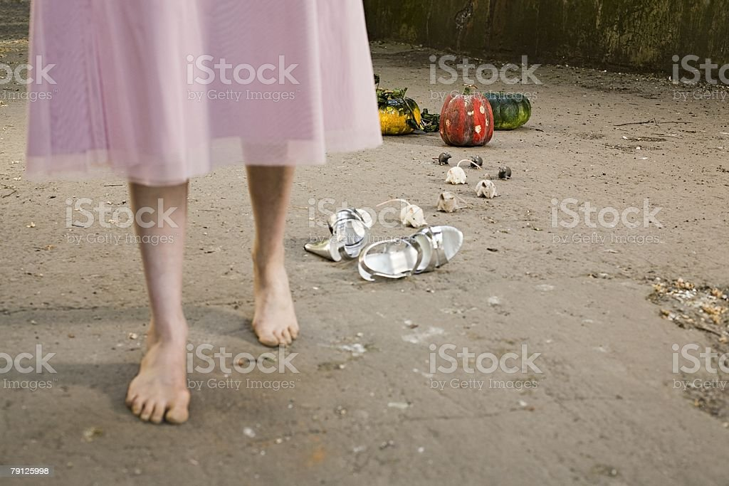 Cinderella stock photo