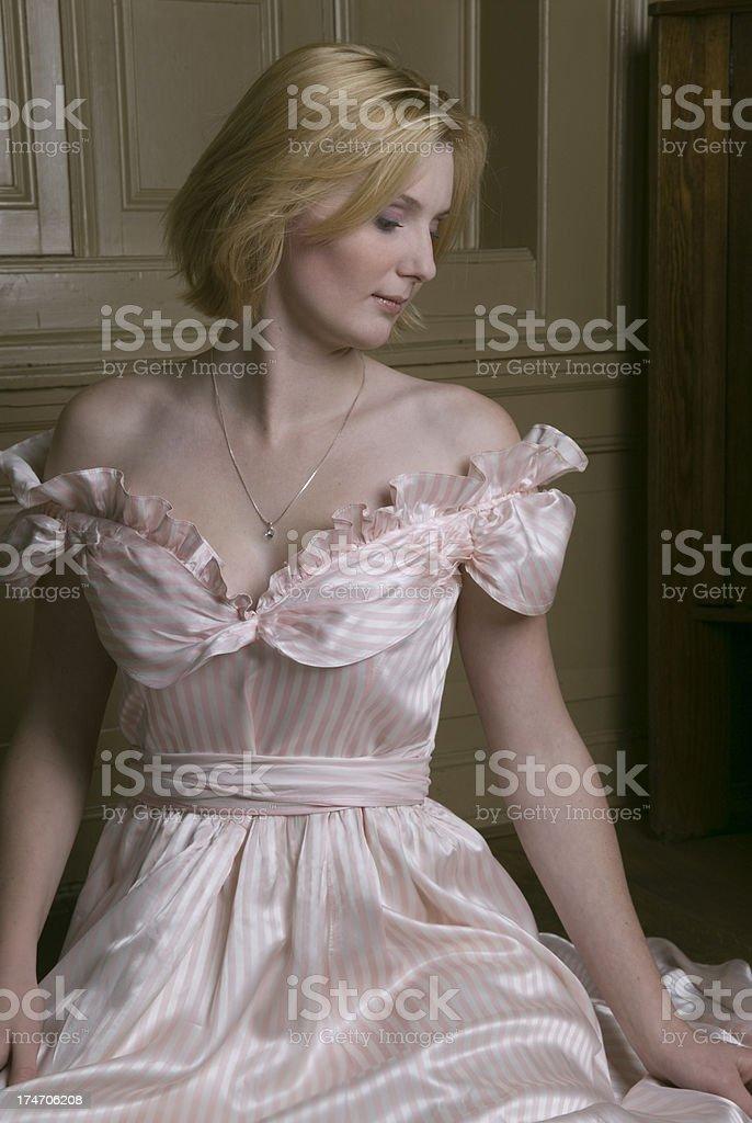 Cinderella portrait stock photo