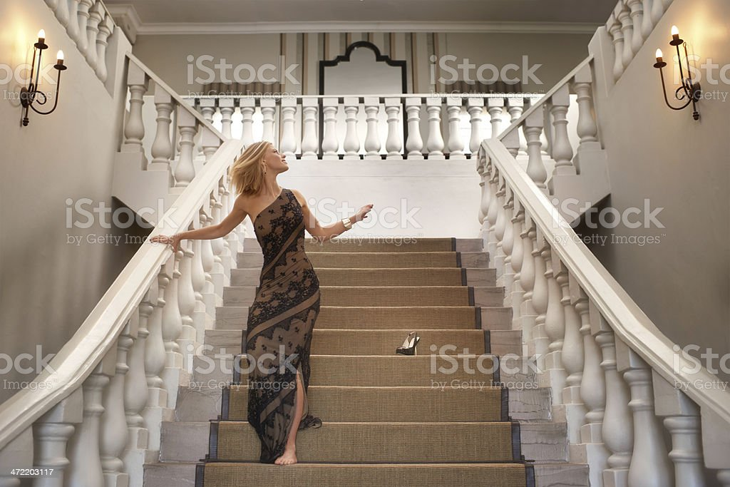 Cinderella story stock photo