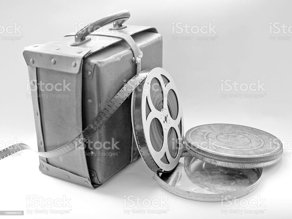 Cine Film royalty-free stock photo
