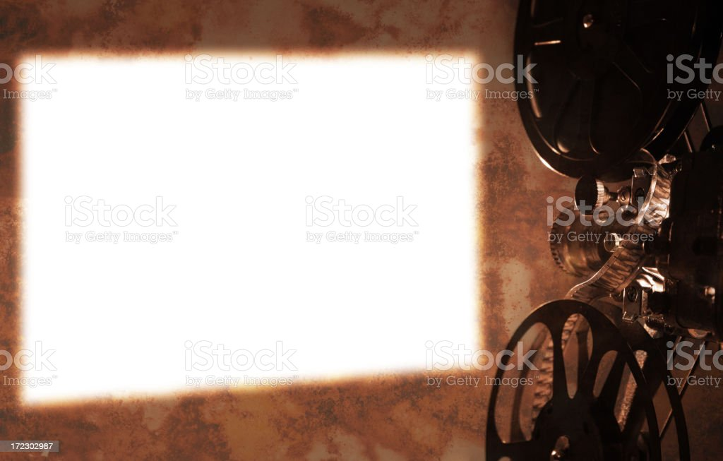 Cine Projection stock photo