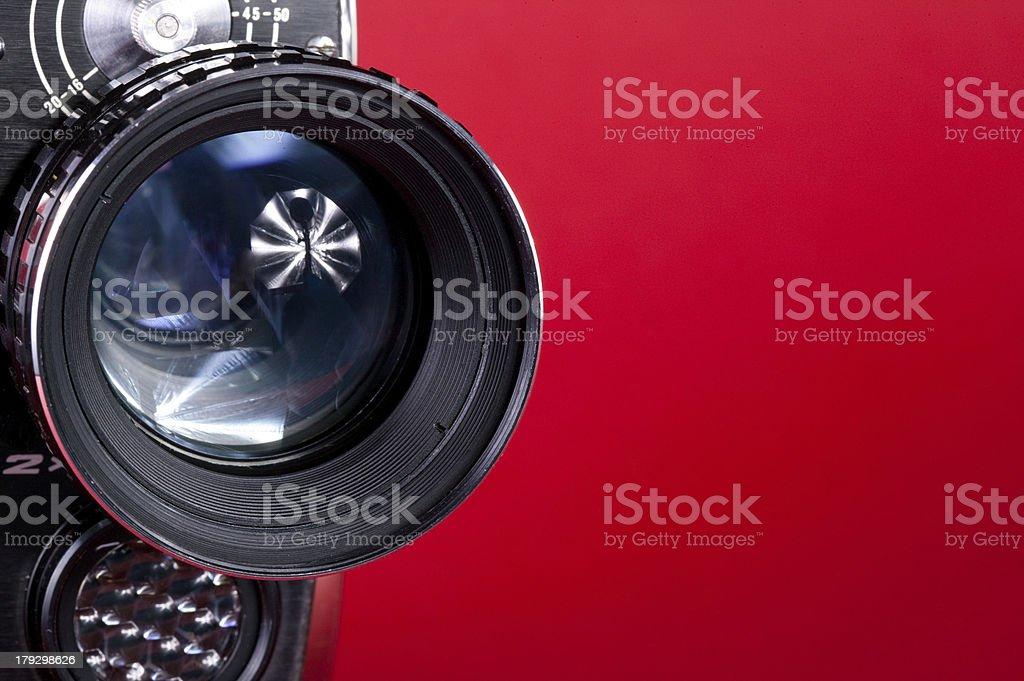 Cinema camera stock photo