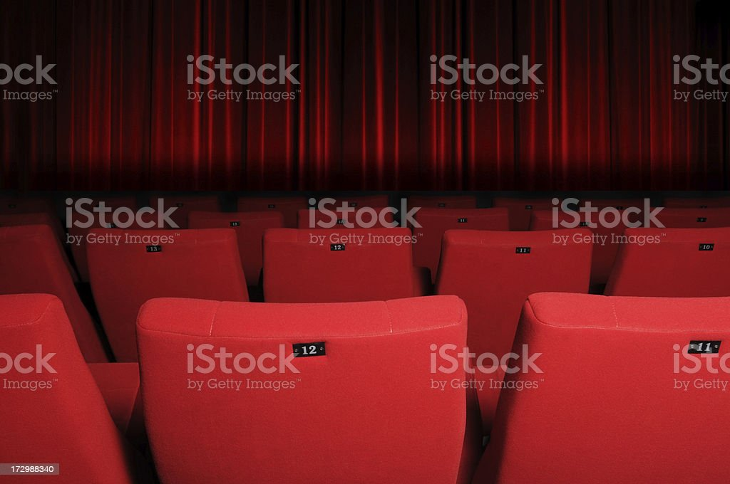 Cinema is a lost art royalty-free stock photo