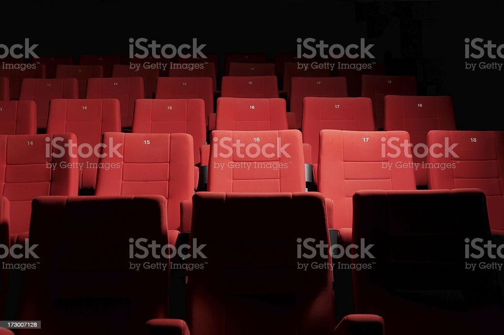 Cinema is a lost art stock photo