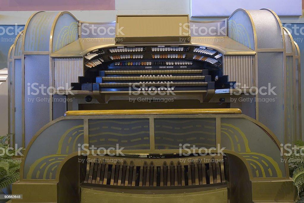 Cinema Organ royalty-free stock photo