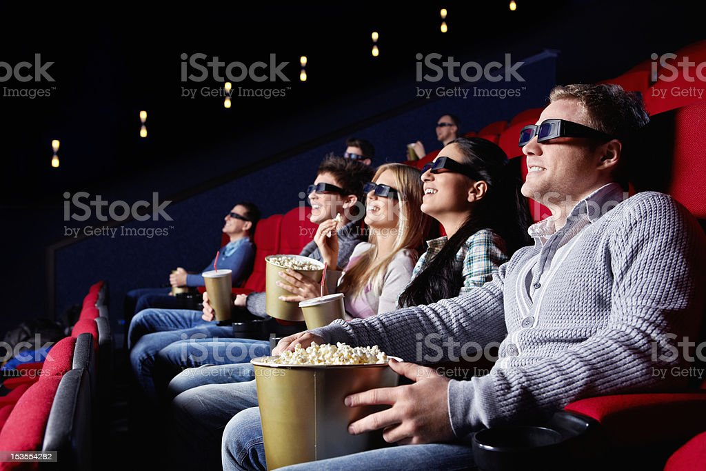 Cinema stock photo