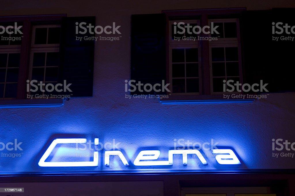 Cinema royalty-free stock photo
