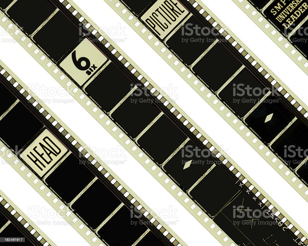 Cinema reels stripes royalty-free stock photo