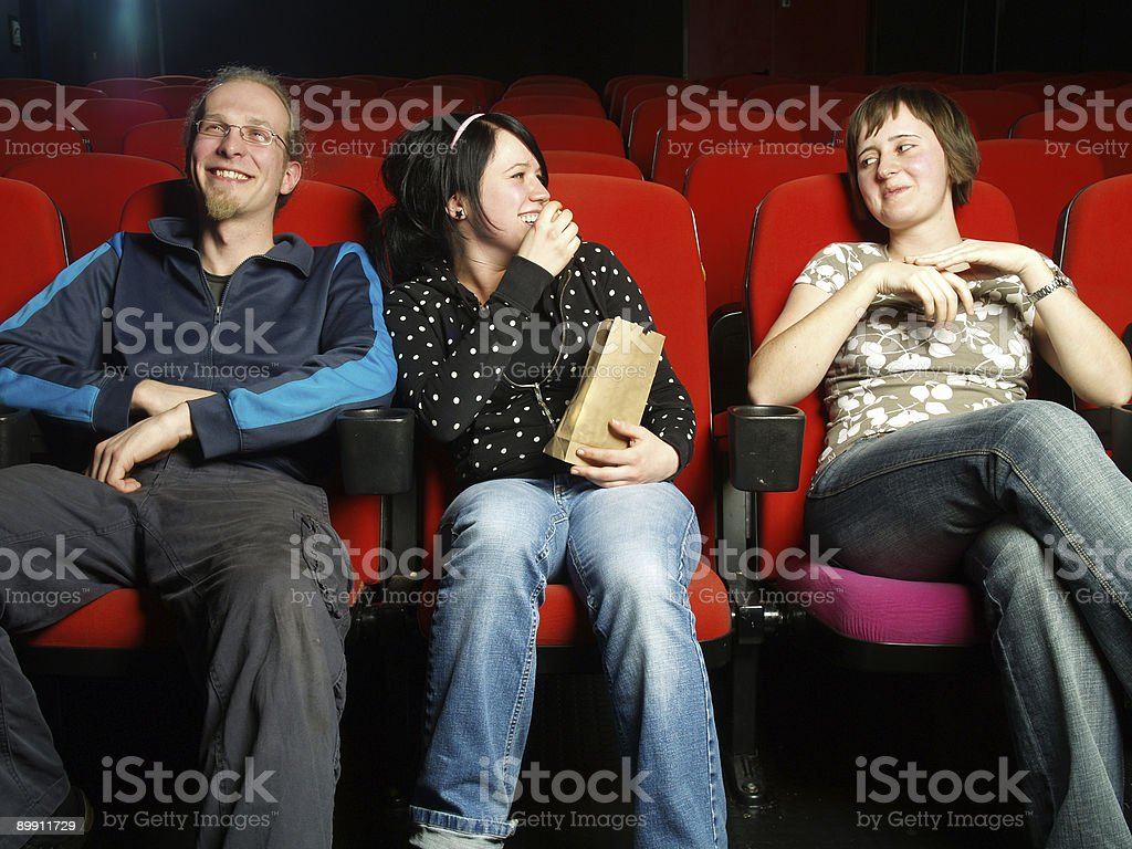 Cinema Series - Popcorn And Fun royalty-free stock photo