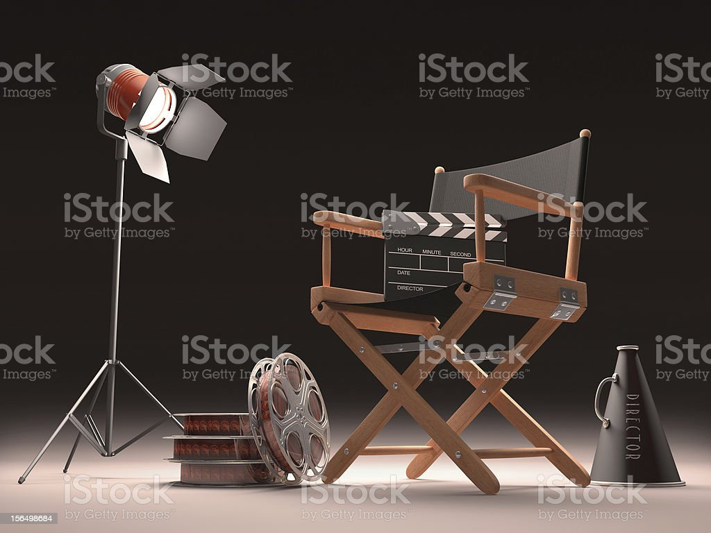Cinema Spot royalty-free stock photo
