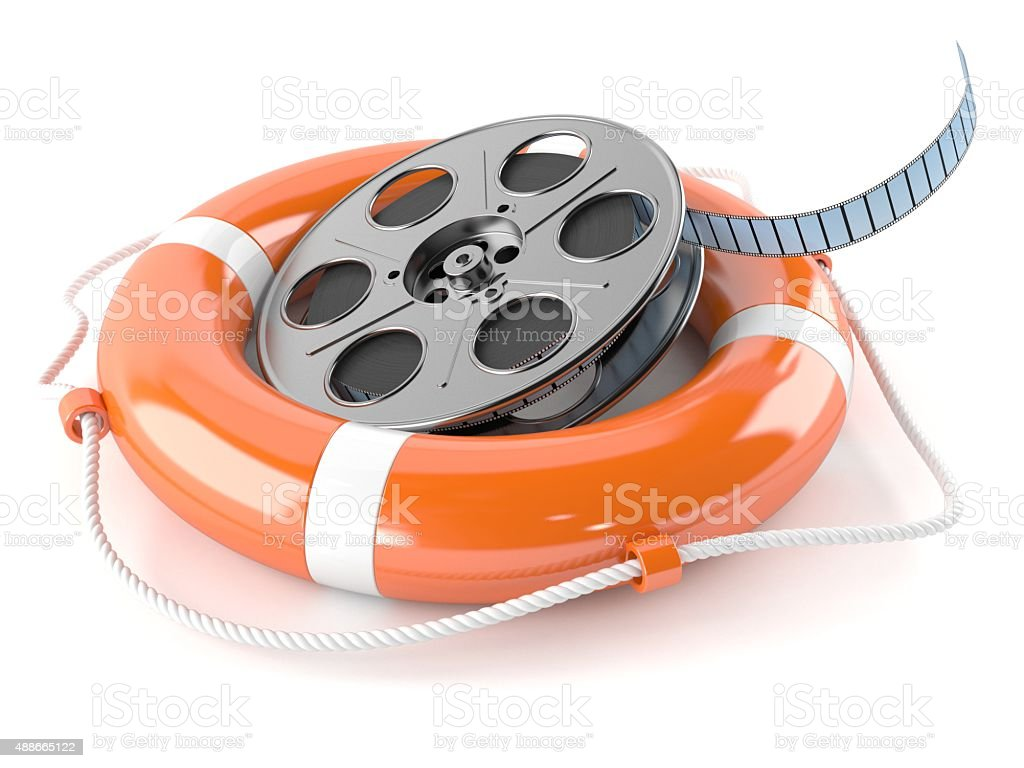 Cinema support stock photo