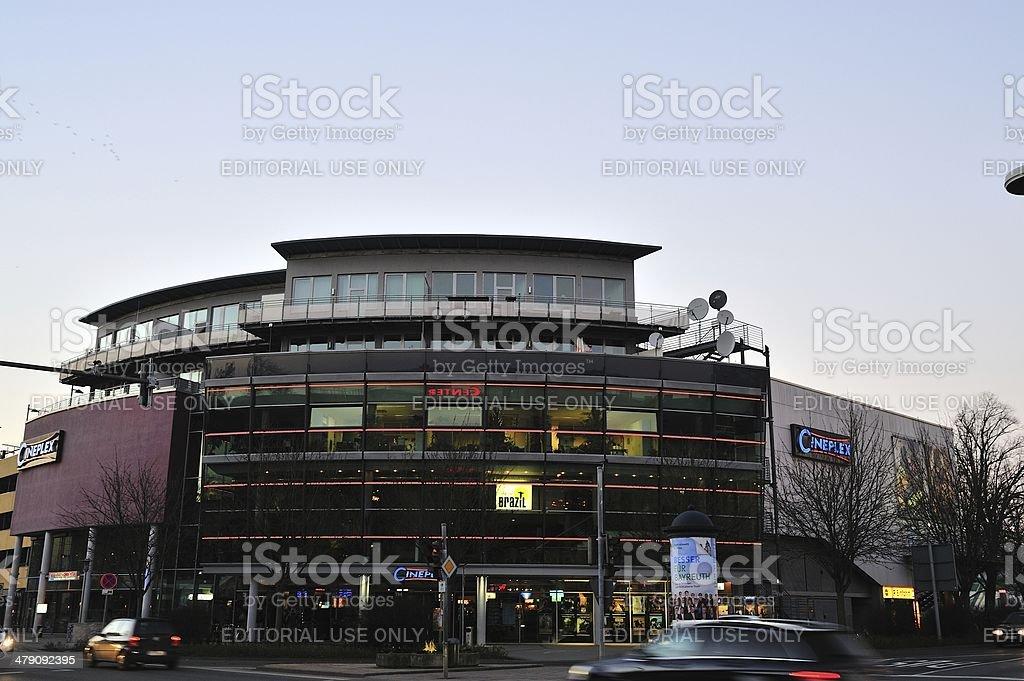 Cinema theatre stock photo