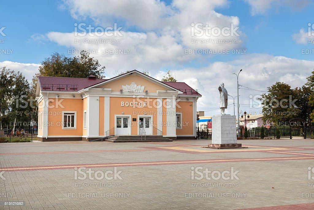 Cinema Vostok. Panino. Russia stock photo