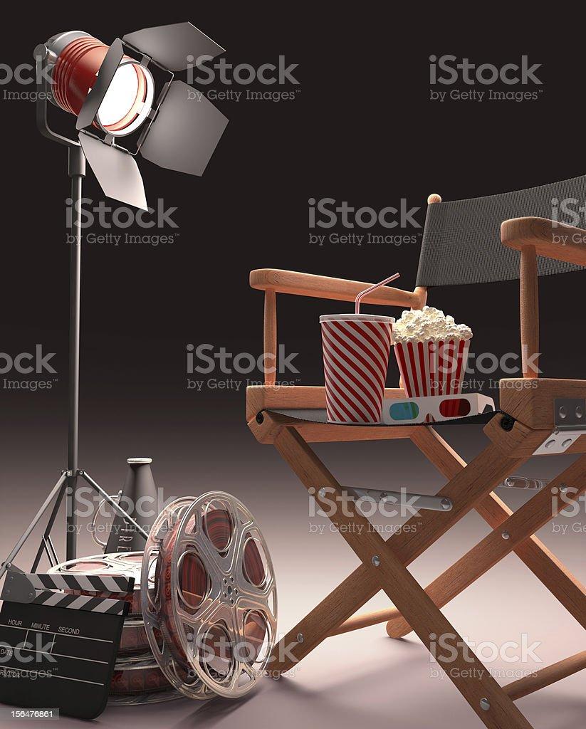 Cinematic Studio royalty-free stock photo