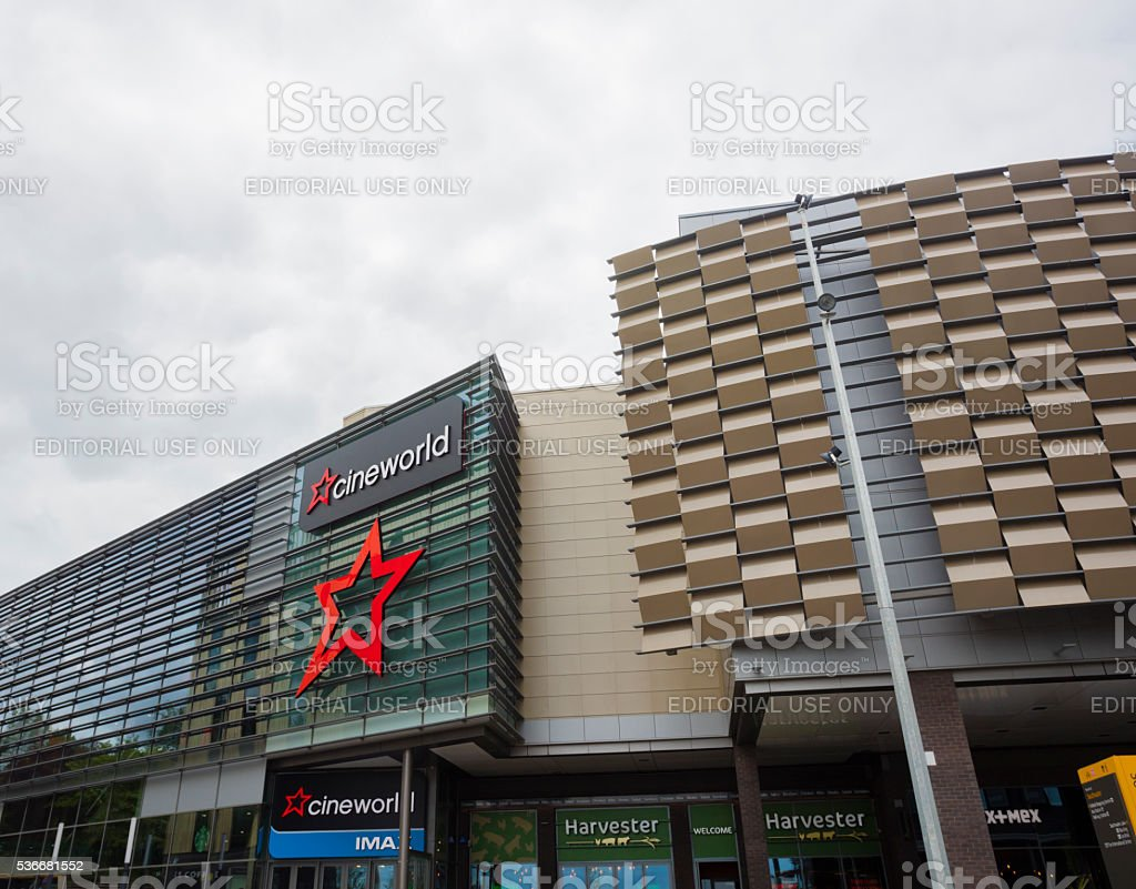 Cineworld stock photo