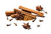 cinnamon, anise and cloves