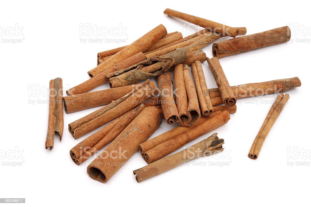 Cinnamon bark royalty-free stock photo