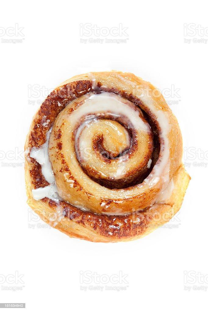 Cinnamon Breakfast Bun royalty-free stock photo