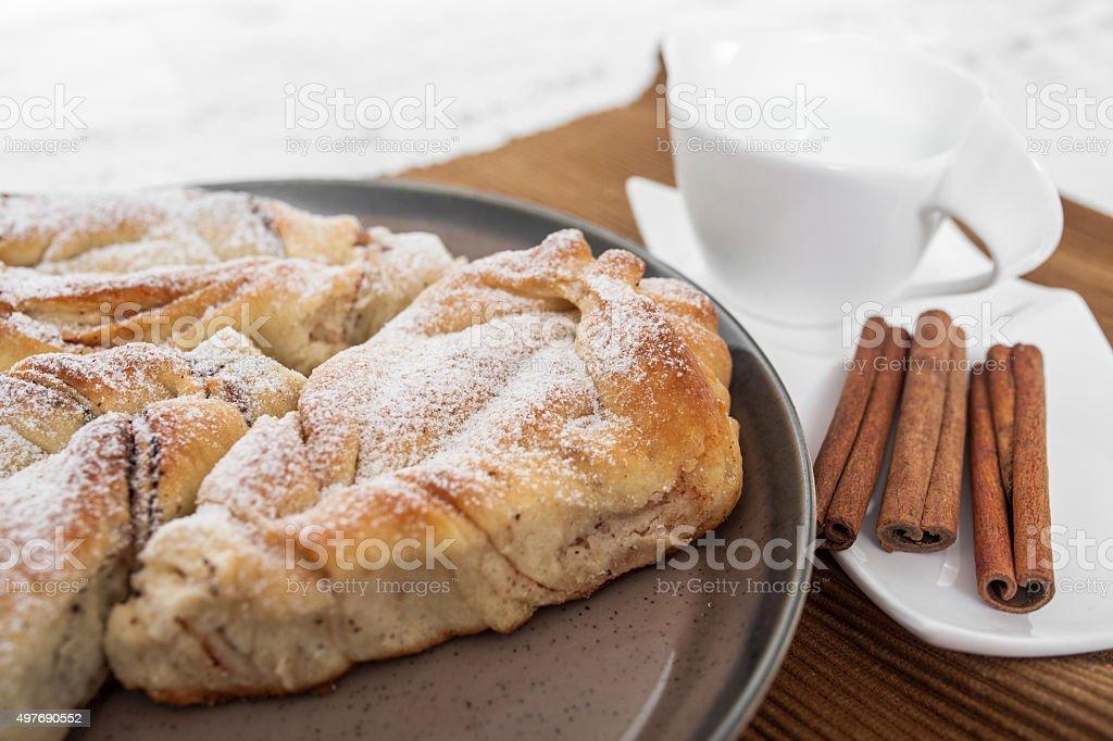 Cinnamon Bun stock photo