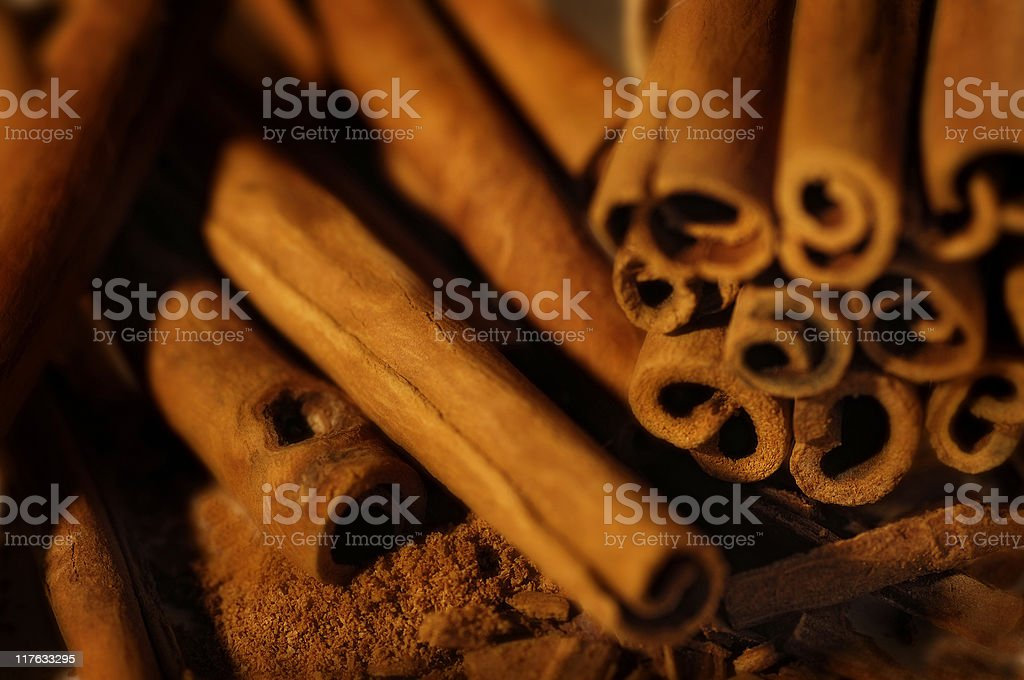 Cinnamon royalty-free stock photo
